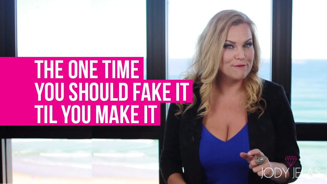 The ONE Time You SHOULD Fake It Til You Make It [VIDEO]