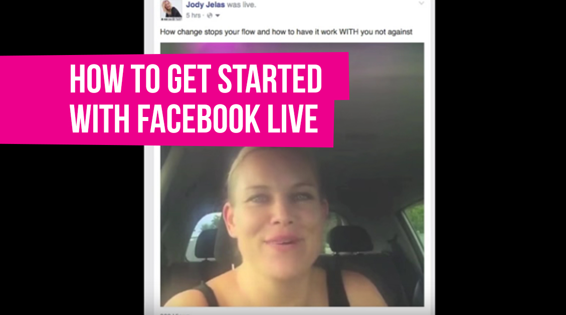 How to get started on Facebook LIVE